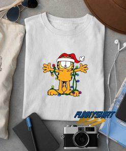 Garfield Lamp Christmas t shirt