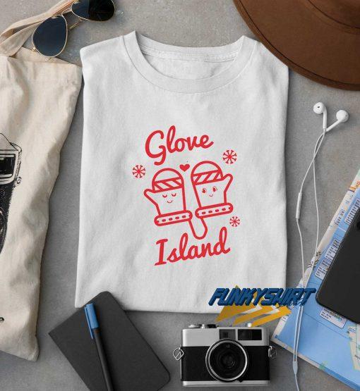 Glove Island Christmas t shirt