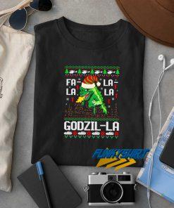 Godzilla Christmas Funny t shirt