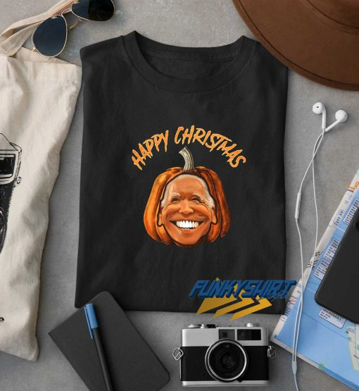 Happy Christmas Joe Biden Pumpkin t shirt