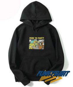 Here To Party Hoodie