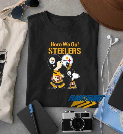 Here We Go Steelers t shirt