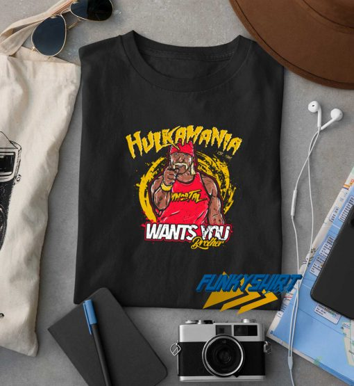 Hulkamania Wants You t shirt