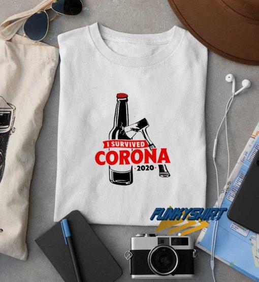 I Survived Corona 2020 t shirt