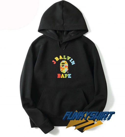J Balvin X Bape Vintage Hoodie