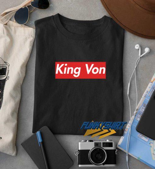 King Von Logo t shirt