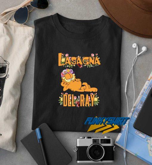 Lasagna Del Ray Garfield t shirt