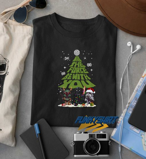 May The Force Be With You Christmas t shirt