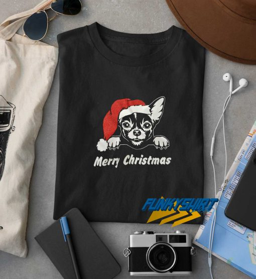 Merry Christmas Dog t shirt