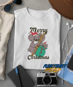 Merry Christmas Koala t shirt