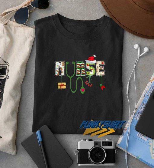 Merry Christmas Nurse t shirt