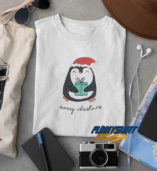 Merry Christmas Penguin t shirt