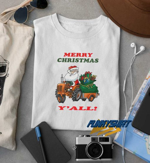 Merry Christmas Yall t shirt