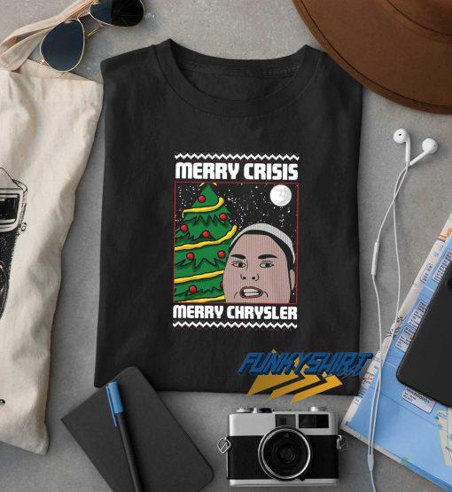 Merry Crisis Merry Chrysler Christmas t shirt