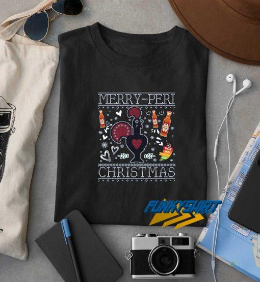 Merry Peri Christmas Nandos t shirt