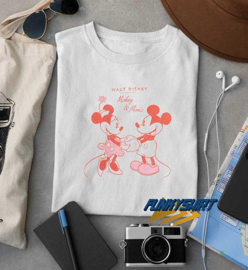 Mickey And Minnie Romantic t shirt