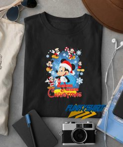 Mickey We Are Never Too Old For Christmas t shirt