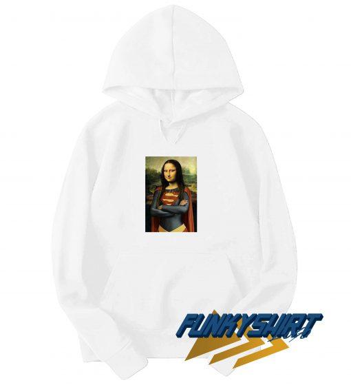 Mona Lisa Superman Hoodie