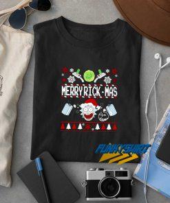 Morty Merry Rickmas t shirt