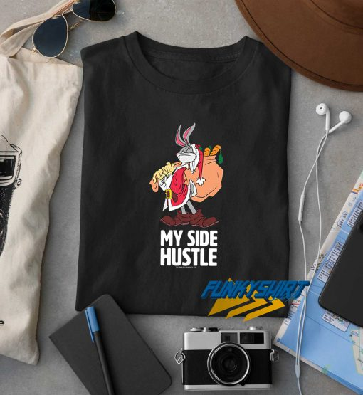 My Side Hustle Bunny Christmas t shirt