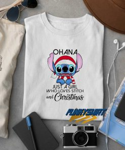 Ohana Stitch And Christmas t shirt