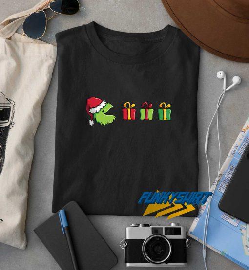Pacman Grinch Christmas t shirt