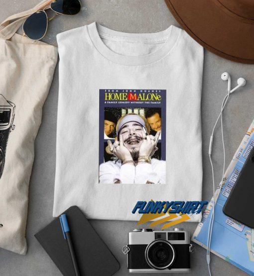 Post Malone Home Alone Christmas t shirt