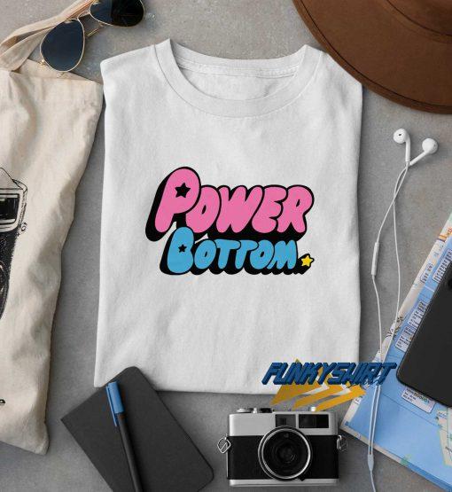 Power Bottom Logo t shirt