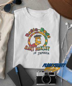 Rasta Dude Bart Marley t shirt