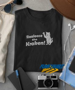 Release The Kraken Cat t shirt