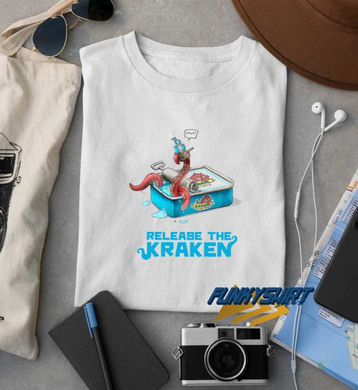 Release The Kraken Graphic t shirt