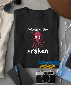 Release The Kraken Octopus t shirt
