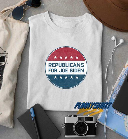 Republican For Joe Biden t shirt