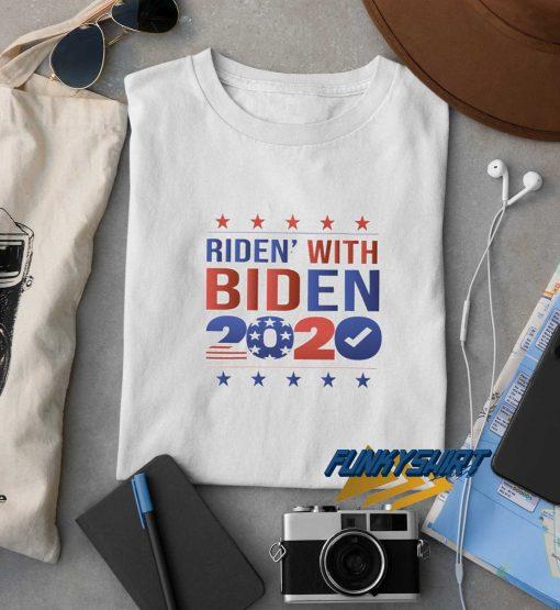 Ridin With Biden 2020 t shirt