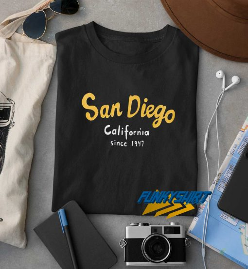 San Diego California Since 1947 t shirt