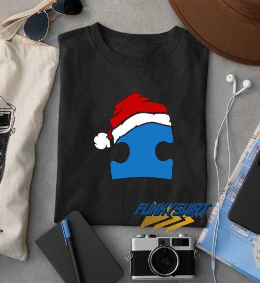 Santa Autism Christmas t shirt