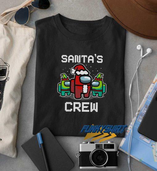 Santas Crew Christmas t shirt