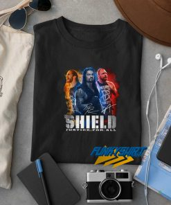 Shield Justice For All t shirt