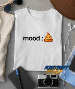 Shitty Mood Poop Emoji t shirt