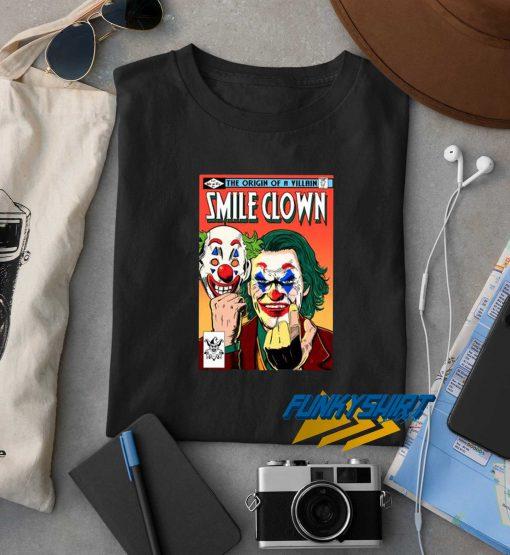 Smile Clown Joker t shirt