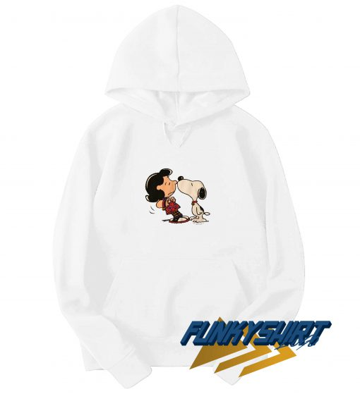 Snoopy Kissing Lucy Hoodie