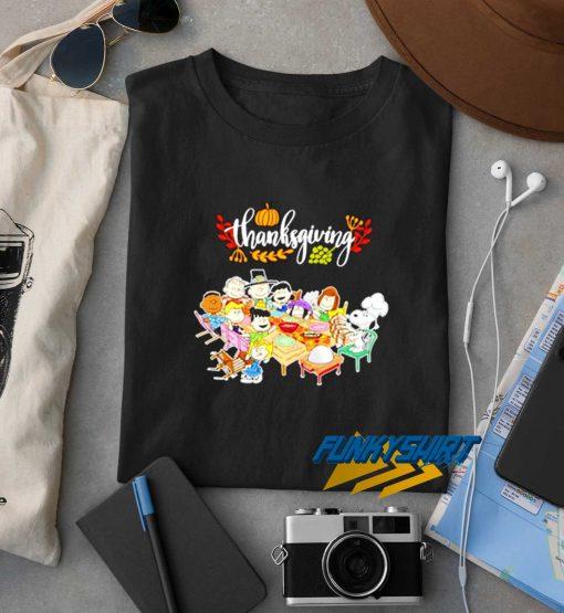 Snoopy Peanuts Thanksgiving t shirt