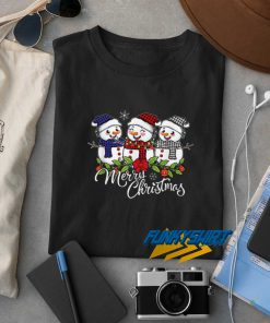Snowman Merry Christmas t shirt