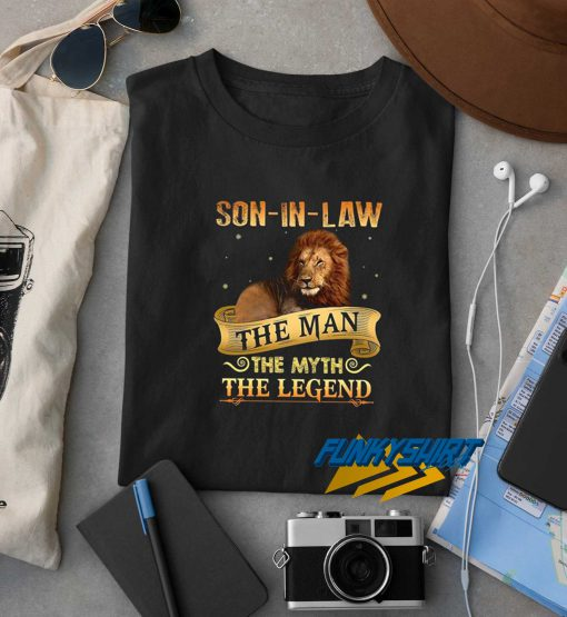 Son In Law The Man t shirt