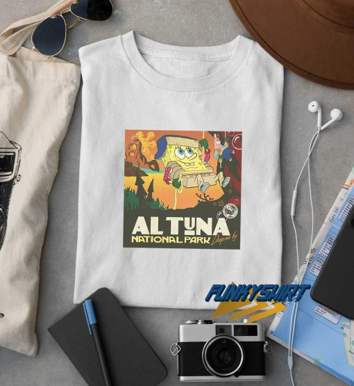 SpongeBob Al Tuna National Park t shirt