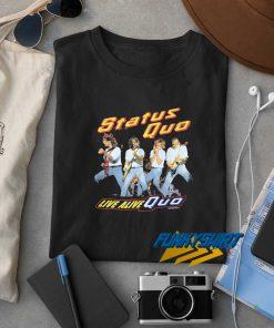 Status Quo Live Alive t shirt