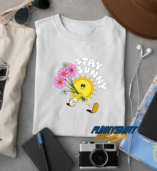 Stay Sunny Graphic t shirt