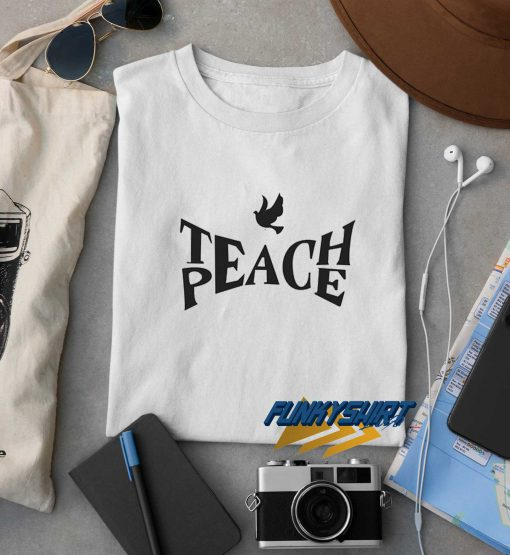 Teach Peach Dove t shirt