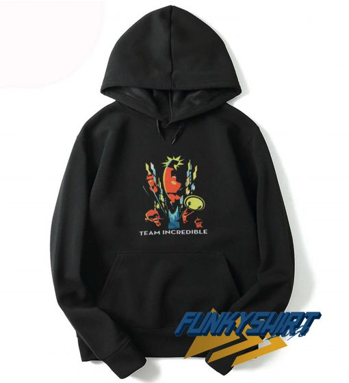 Team Incredibles Art Hoodie