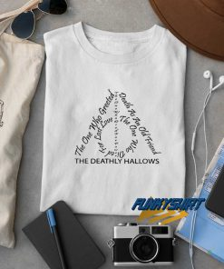 The Deathly Hallows t shirt